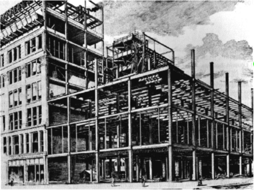 Fair store chicago 1890 misfits 39 architecture for Insurance for home under construction