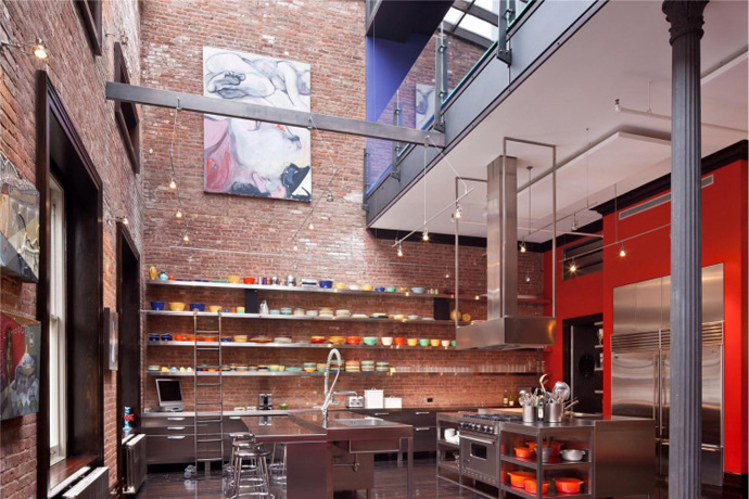 30 Million Three Story Tribeca New York City Apartment 3