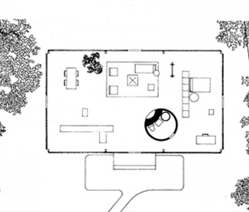 Philip johnson glass house floor plan hd wallpaper for Modern glass house floor plans