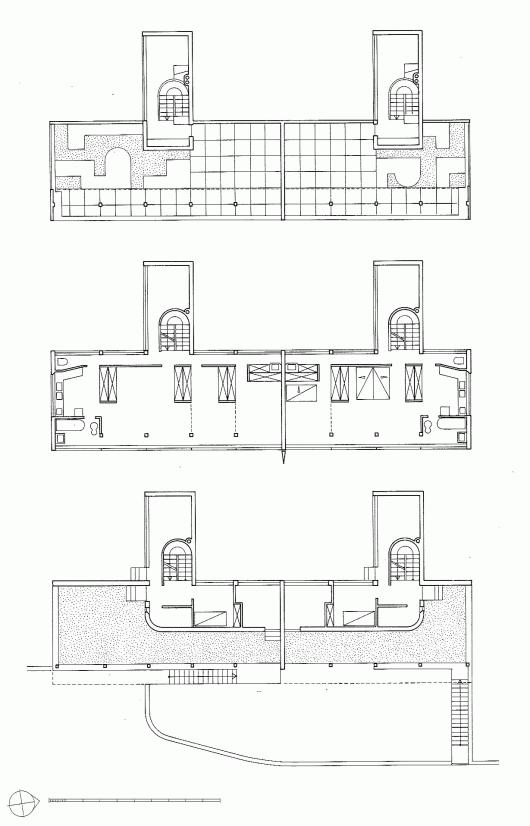 5318d081c07a80688c00013b ad classics weissenhof siedlung for Ad house plans